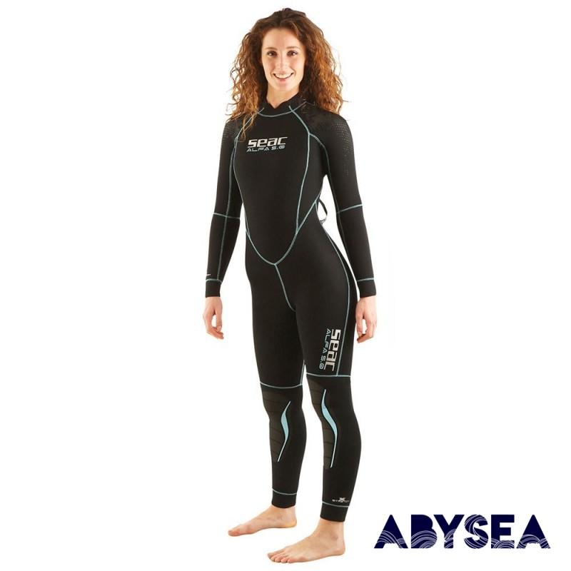 COMBINAISON FEMME - SEAC - ALFA - 5 MM - Combinaisons de plongée - Plongée sous-marine - Abysea