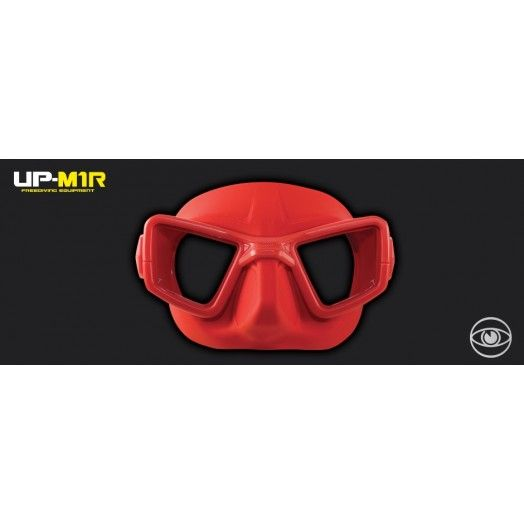 UMBERTO PELIZZARI - MASQUE - UP-M1R ROUGE - Masques apnée & snorkeling • tubas - Triathlon • Apnée • Snorkeling - Atlantys