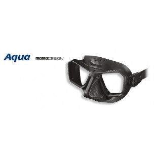 OMER - MASQUE AQUA - SILICONE NOIR - Masques • tubas de chasse - Chasse sous-marine - Abysea