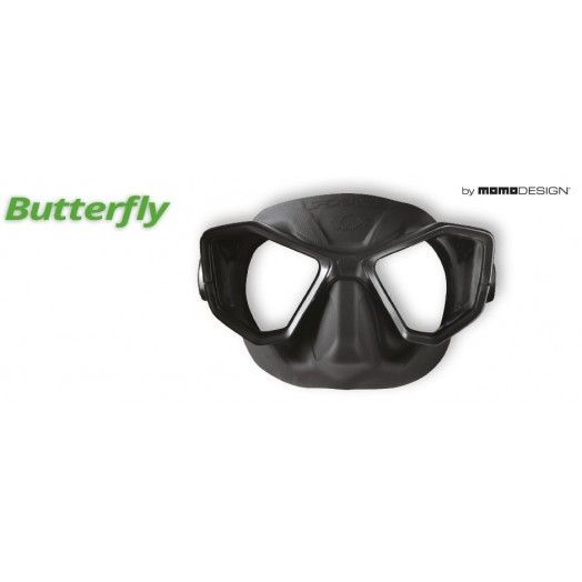 MASQUE - SPORASUB - BUTTERFLY - SILICONE NOIR - Masques • tubas de chasse - Chasse sous-marine - Abysea