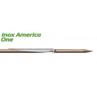 SPORASUB - FLECHE INOX AMERICA - 2 ARDILLONS ø6.3mm POUR SK40 - Flèches - Accastillage • Accessoires de chasse - Abysea