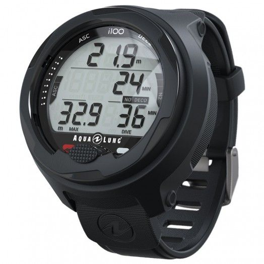 Ordinateur de plongée AQUALUNG i100 - Ordinateurs • montres de plongée - Plongée sous-marine - Atlantys Homopalmus