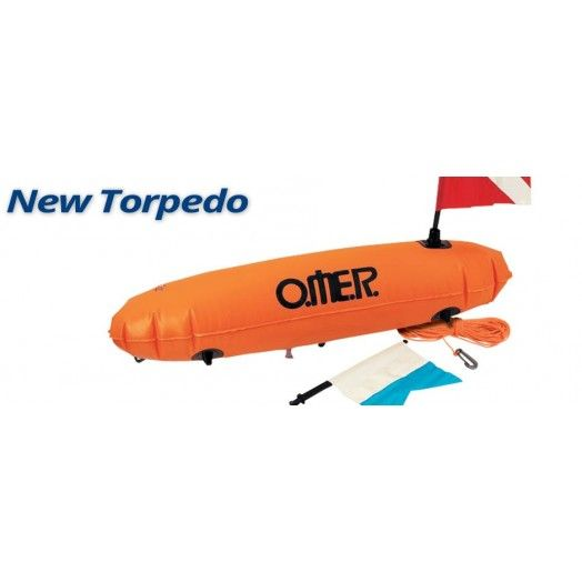 OMER - BOUÉE NEW TORPEDO - Bouée / planche • Accroche poisson • Dry box - Accastillage • Accessoires de chasse - Abysea