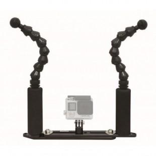 """BIGBLUE - FlexiExtendGPTray : 7"""" Flexi Arm Extendable GoPro tray - SUPPORT"""