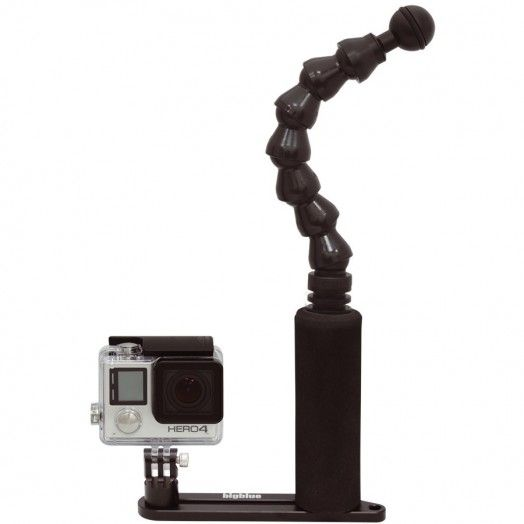 BIGBLUE - FlexiSingleArmTray: Single Arm GoPro tray - SUPPORT - Accessoires • Supports - Lampes de plongée - Atlantys Homopalmus