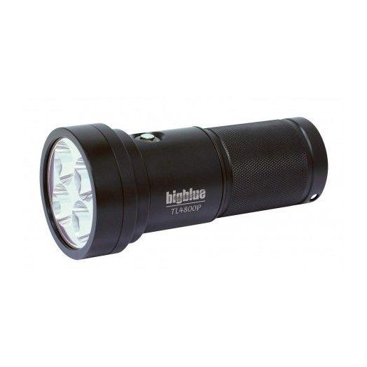 BIGBLUE - TL4800P - PHARE DE PLONGÉE - Lampes de plongée - Plongée sous-marine - Atlantys Homopalmus