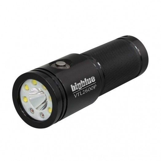 BIGBLUE - VTL2600P - PHARE DE PLONGÉE - Lampes de plongée - Plongée sous-marine - Atlantys Homopalmus