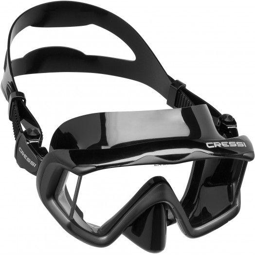 MASQUE - CRESSI - LIBERTY TRISIDE - Masques de plongée • tubas - Plongée sous-marine - Atlantys Homopalmus