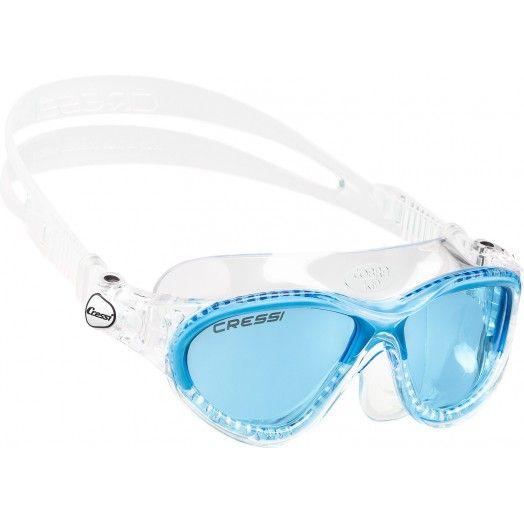 CRESSI - LUNETTES NATATION ENFANT MINI COBRA - Masques • tubas apnée & snorkeling - Triathlon • Apnée • Snorkeling - Abysea