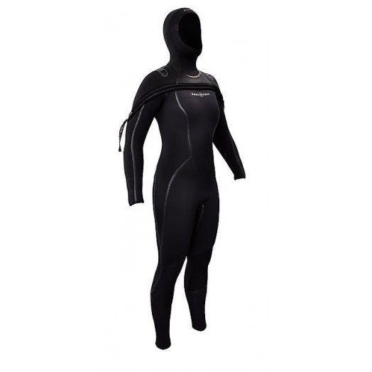 Combinaison semi-étanche femme - AQUALUNG - SOLA FX - Plongée sous-marine - Nos produits - Abysea