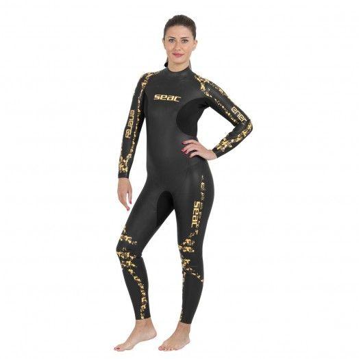 COMBINAISON DE NAGE - SEAC - MONOPIECE ENERGY FEMME 2 MM - Combinaisons apnée & snorkeling - Triathlon • Apnée • Snorkeling -