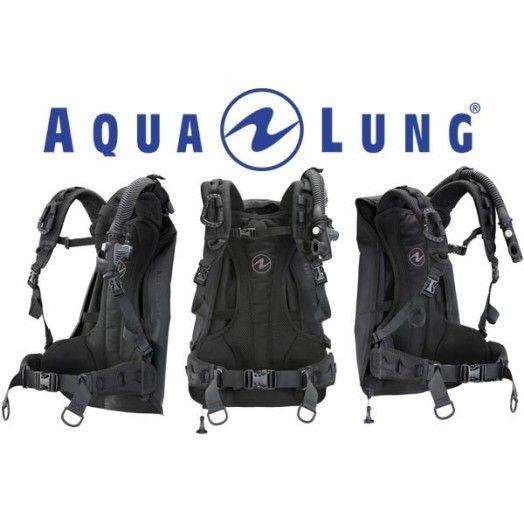 Gilet stabilisateur AQUALUNG Outlaw noir - Gilets stabilisateurs de plongée - Plongée sous-marine - Atlantys Homopalmus