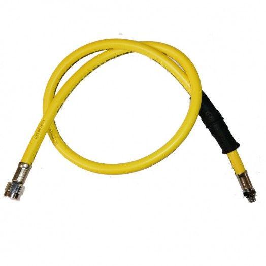 """Flexible AQUALUNG MP 3/8"""" jaune 1m - Accastillage • Accessoires de plongée - Plongée sous-marine - Atlantys Homopalmus"""