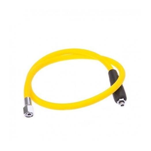 Flexible AQUALUNG Aqua flex MP jaune complet 1m - Accastillage • Accessoires de plongée - Plongée sous-marine - Abysea