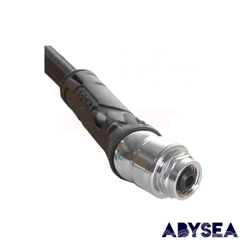 """Rotule flexible détendeur APEKS 3/8"""" 0,7m - Accastillage • Accessoires de plongée - Plongée sous-marine - Abysea"""