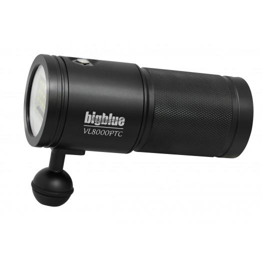 bigblue VL 8000 Tri-color - Lampes de plongée - Plongée sous-marine - Abysea