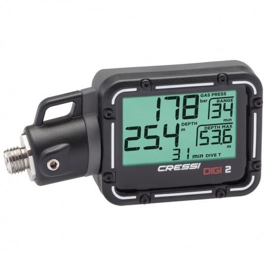 Console digitale - Cressi - Digi 2 - Ordinateurs • montres de plongée - Plongée sous-marine - Atlantys Homopalmus