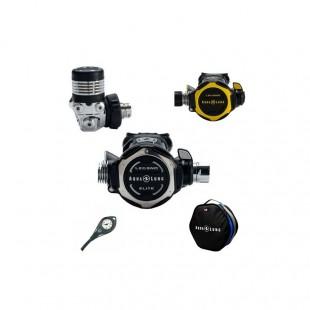 Détendeur de plongée - Aqualung - Pack détendeur Legend 3 ELITE DIN Complet - Détendeurs de plongée - Plongée sous-marine -