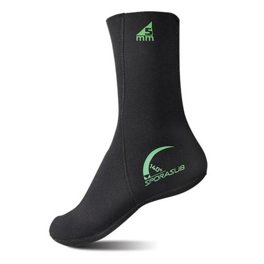 Chaussettes de plongée Sporasub 140° - Gants • chaussons de chasse - Chasse sous-marine - Atlantys Homopalmus