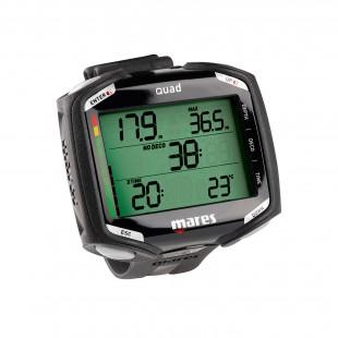 Ordinateur de plongée - MARES - QUAD - Ordinateurs • montres de plongée - Plongée sous-marine - Abysea
