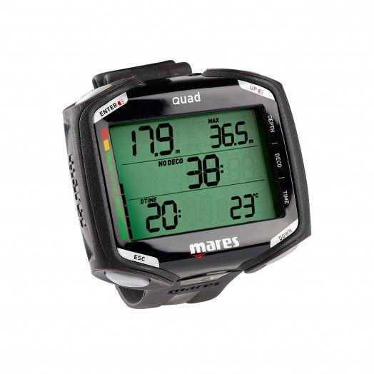 Ordinateur de plongée - MARES - QUAD - Ordinateurs • montres de plongée - Plongée sous-marine - Atlantys Homopalmus