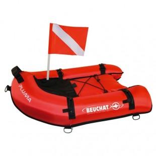 Planche de chasse Beuchat PLUMA - Bouée / planche • Accroche poisson • Dry box - Accastillage • Accessoires de chasse - Abysea