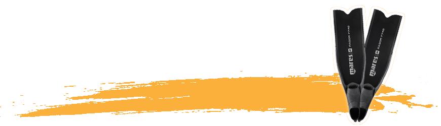 Palmes de chasse sous-marine