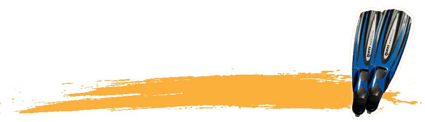 Palmes de plongée sous-marine