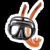 Masques de plongée • tubas