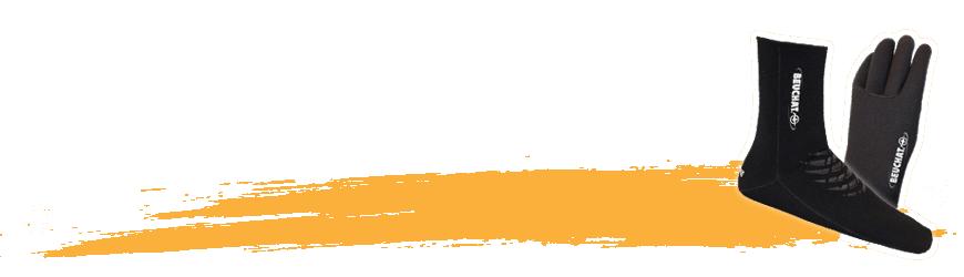 Gants de plongée & chaussons de plongée sous-marine - Abysea