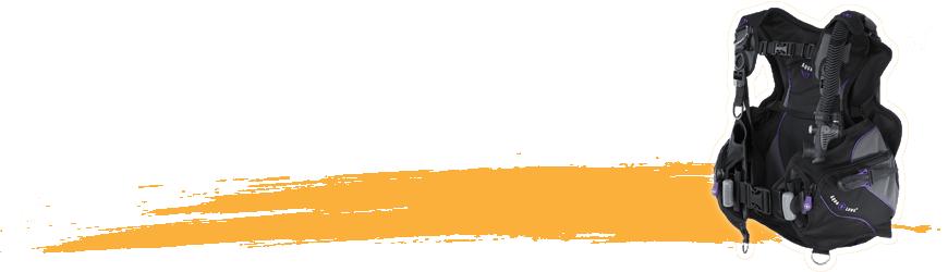 Gilets stabilisateurs de plongée - Atlantys Homopalmus