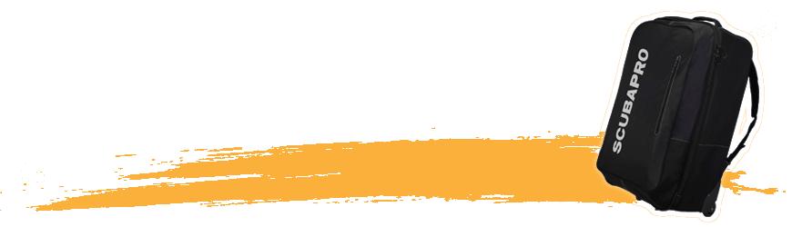 Sac bagagerie de plongée sous-marine - Abysea