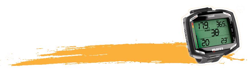 Ordinateur & montre de plongée sous-marine