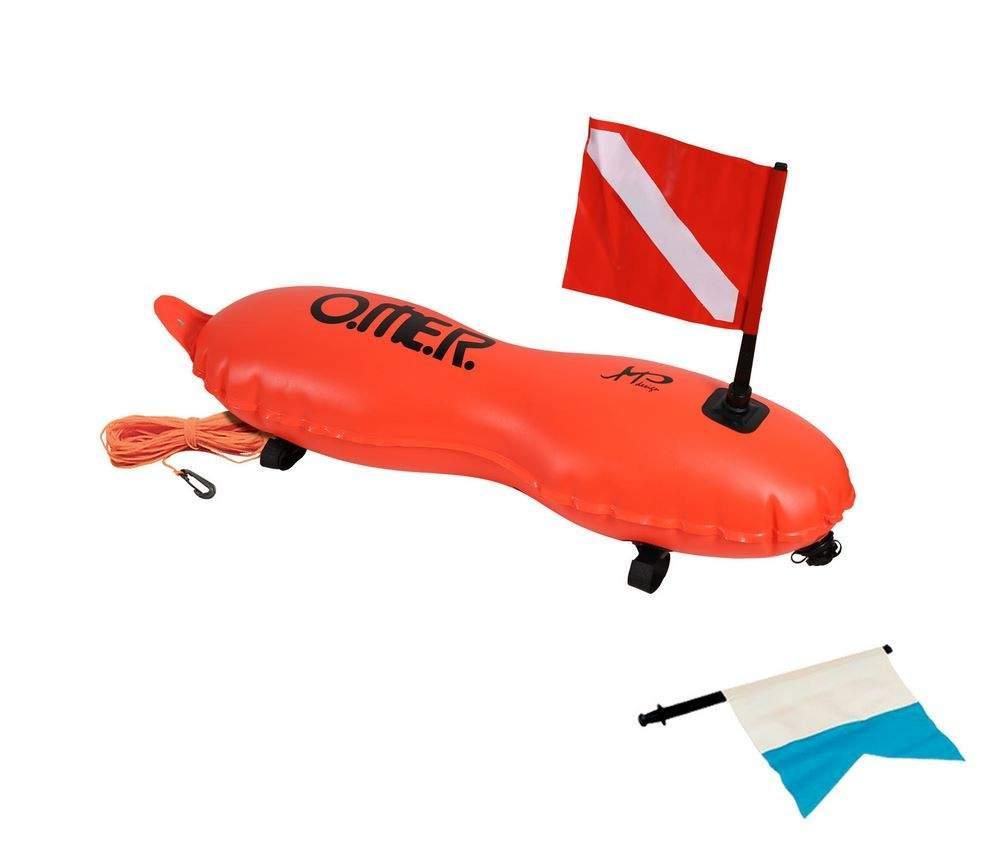 Bouée Torpedo apportant un meilleur hydrodynamisme