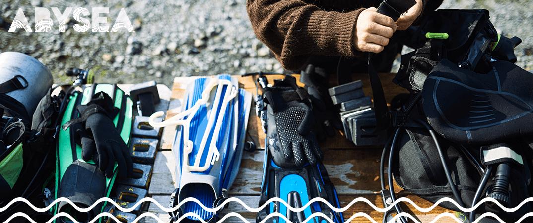 Posséder un matériel de plongée entretenu et en bon état